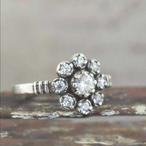 Lit'l Vintage Ring by Inspiranza Designs - Sz 8